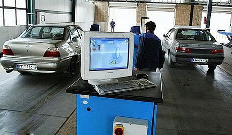 ۴۰۰ هزار خودروی تهران هنوز  به مراکز معاینه فنی نیامدهاند