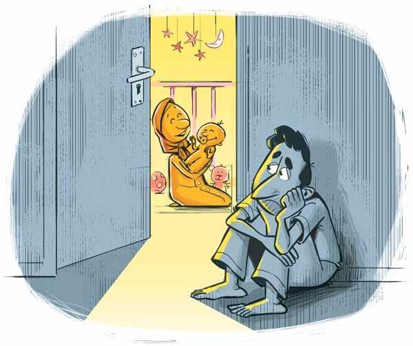 افسردگی از نوع پدرانه!