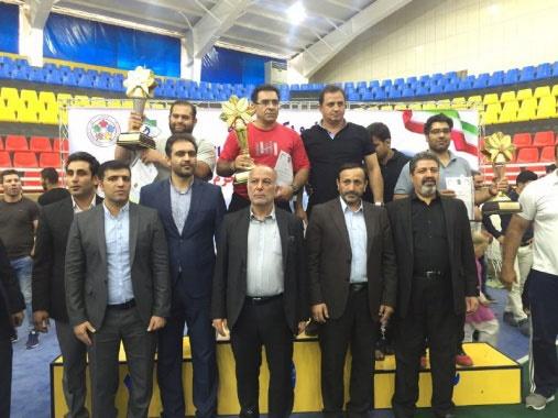 تهران قهرمان جودوی بزرگسالان کشور شد