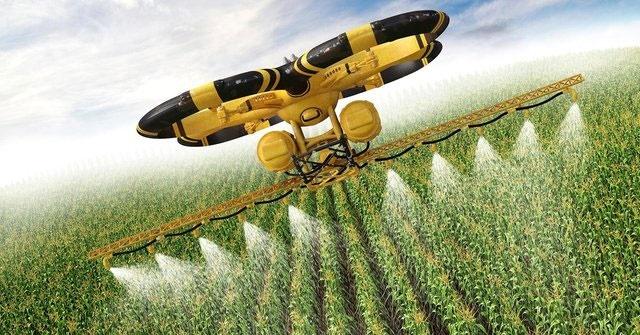 کشاورزی مدرن با پهپادهای کشاورز