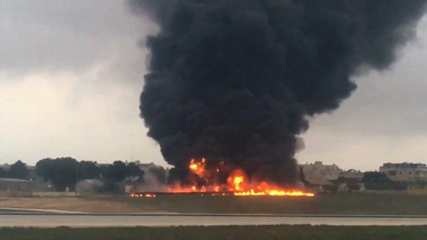 ۳ مقام وزارت دفاع فرانسه در میان جان باختگان سقوط هواپیما در مالت