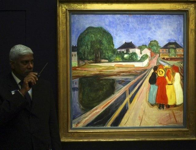 حراج اثر ۵۰ میلیون دلاری نقاش جیغ