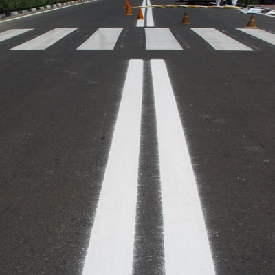 خط کشی خیابان