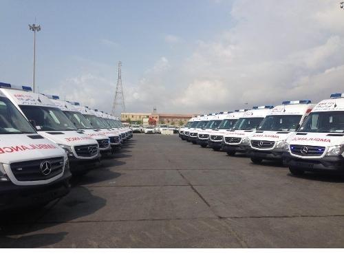 آمادگی  ۳۵۰۰ دستگاه آمبولانس برای ارائه خدمت در ایام محرم