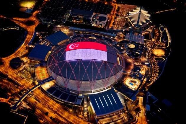 بزرگترین استادیوم گنبدی جهان با سقف الایدی