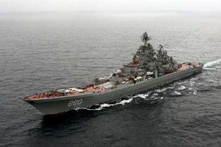 ناوگروه اتمی و هواپیمابر روسیه به مدیترانه رسید