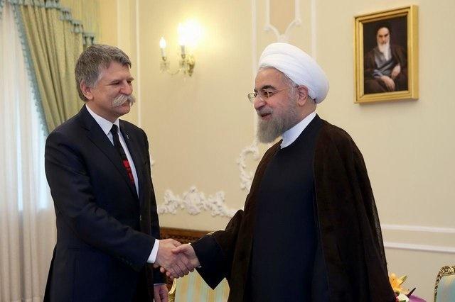 روحانی در دیدار با رئیس مجلس مجارستان: بسیاری از قراردادهای دوره پسابرجام عملیاتی شده است