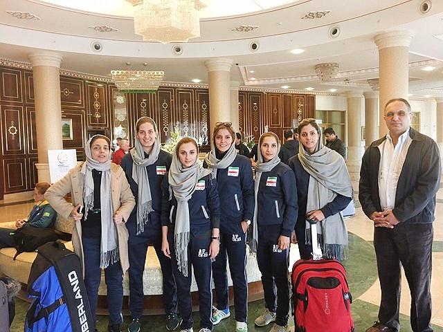 حضور دختران بسکتبالیست در تورنمنت رسمی فیبا با هزینه شخصی