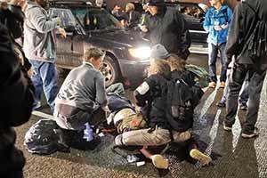 یکی از معترضان در شهر پورتلند به ضرب گلوله نیروهای پلیس کشته شد.