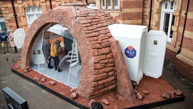 رونمایی از خانههای مریخی