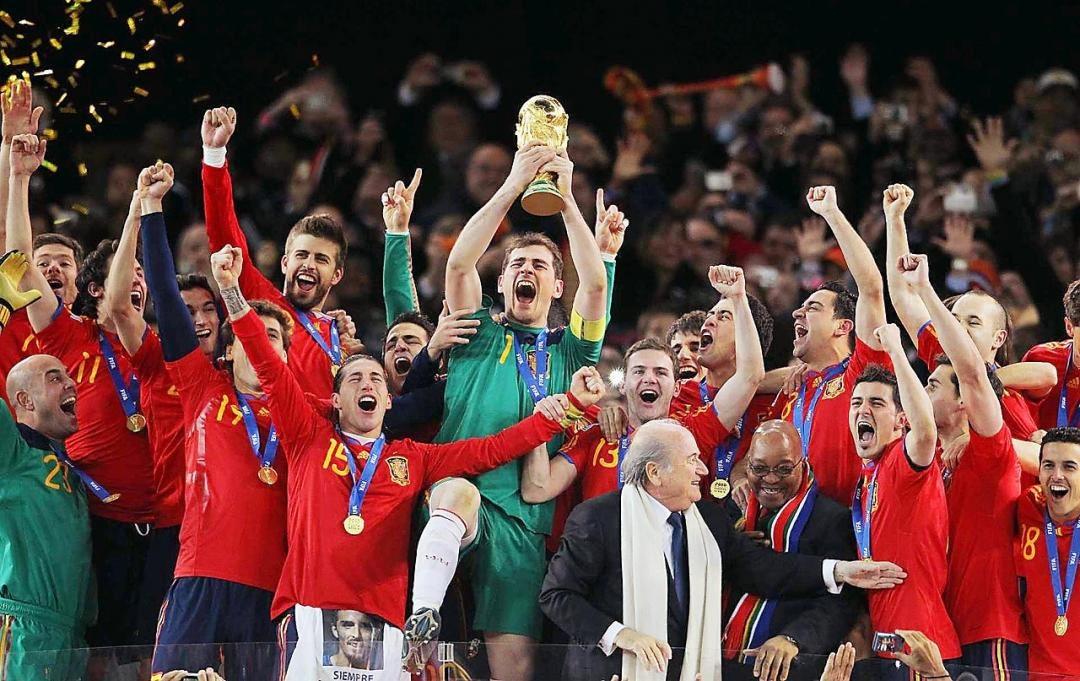 جشن قهرمانی جام جهانی ۲۰۱۰