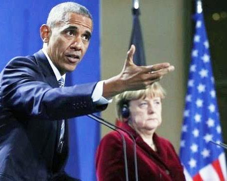 اوباما در برلین: ترامپ در مقابل روسیه بایستد
