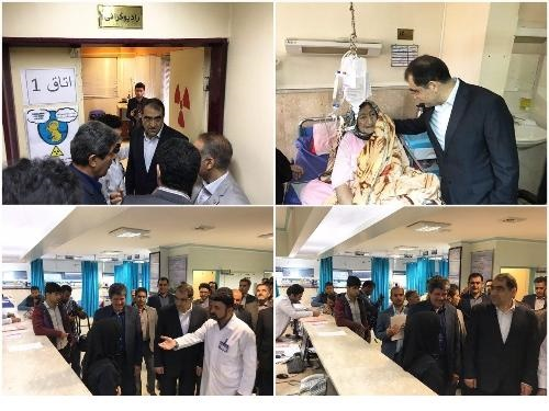 سفر وزیر بهداشت به شهرستان های استان تهران