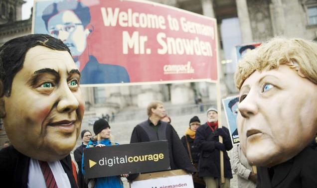 آلمان و ماجرای تحقیق از اسنودن درباره جاسوسی آژانس امنیتی آمریکا