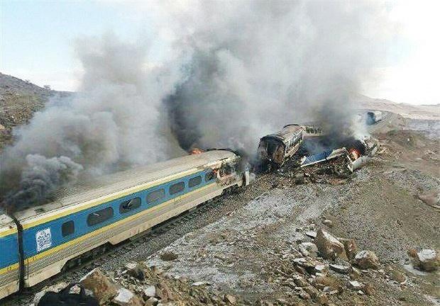 حادثه قطار سمنان