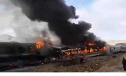 حادثه برخورد قطار