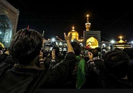 خیل عظیم عزاداران نبوی در مشهدالرضا به سوگ نشستند