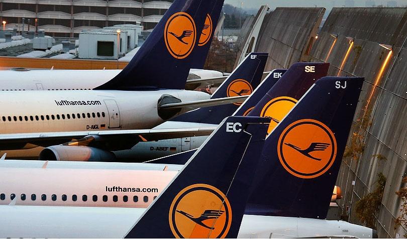صدها پرواز دیگر لوفت هانزا به علت ادامه اعتصاب لغو شد