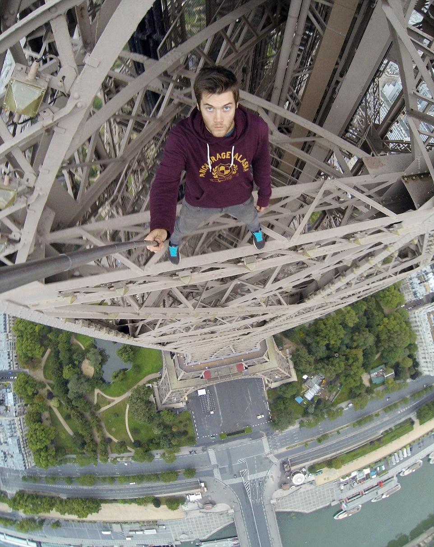 سلفی بر فراز پاریس