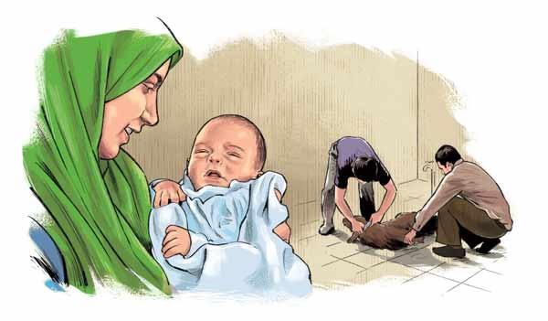 بلا را از نوزادتان دور کنید