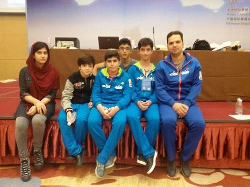ایران قهرمان شطرنج برق آسای زیر ۱۴ سال آسیا شد