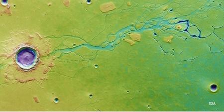 منبع آب ساکنان آینده مریخ کشف شد