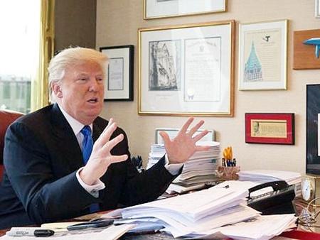 دوئل آمریکایی؛ رئیسجمهور در مقابل رسانهها