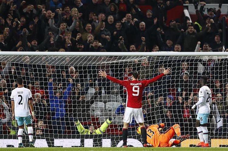 منچستریونایتد به نیمه نهایی جام اتحادیه صعود کرد