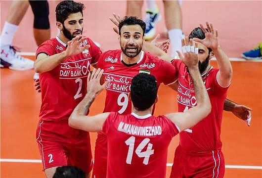 والیبال | برنامه دیدارهای ایران در لیگ جهانی