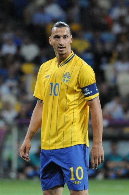 زلاتان ابراهیموویچ یورو ۲۰۱۲