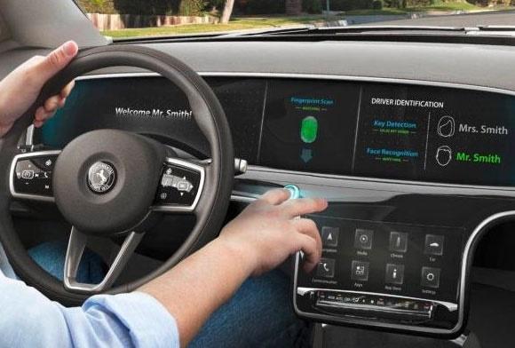خودروهای آینده با اثر انگشت روشن میشوند