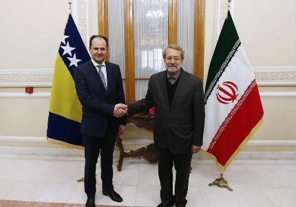 دیدگاههای نزدیکی بین ایران و بوسنی در حل و فصل مشکلات منطقهای وجود دارد