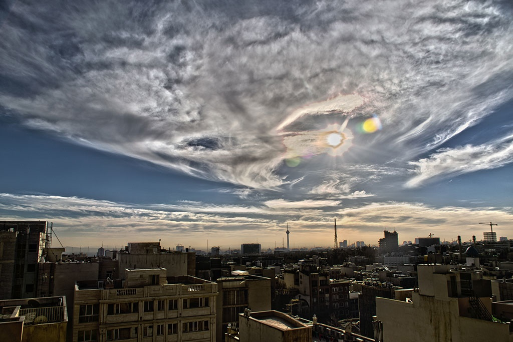 تهران از پنجره همشهری آنلاین