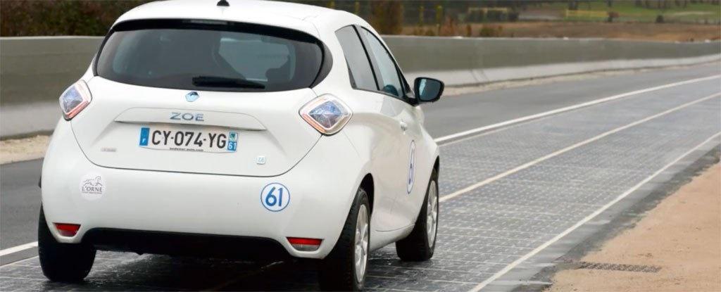 افتتاح اولین جاده خورشیدی جهان در فرانسه