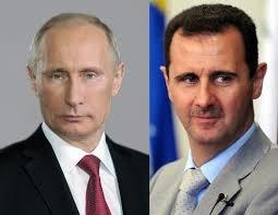 پوتین با تبریک به اسد: زمان تحقق روند سیاسی رسیده است