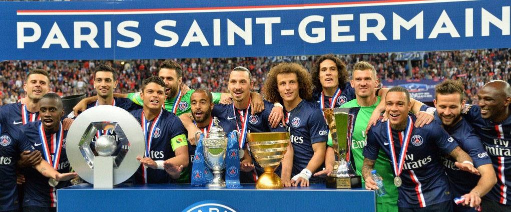 قهرمانی در لیگ یک فرانسه ۲۰۱۵