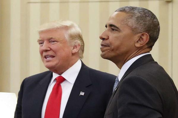 اوباما: می توانم ترامپ را شکست دهم | دونالد: امکان ندارد