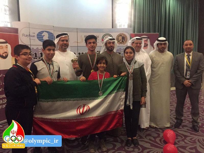 شطرنج قهرمانی غرب آسیا؛ درخشش ایرانیها در بخش سریع و برقآسا