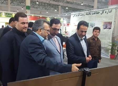 دومین نمایشگاه بینالمللی هفته سبز در کیش گشایش یافت