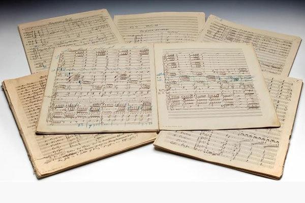 نُت دست نویس گوستاو مالر ۴.۵ میلیون پوند فروخته شد