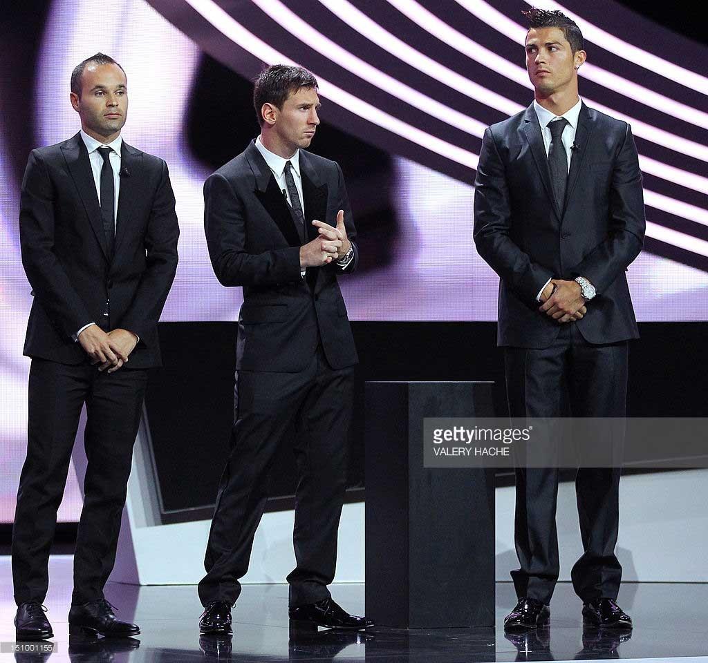 مراسم انتخاب بهترین بازیکن جهان سال ۲۰۱۲