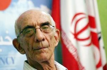 شب دکتر عبادیان در کانون زبان پارسی