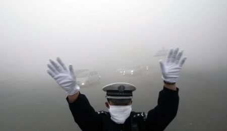 ۶۰ شهر چین گرفتار آلودگی شدید هوا
