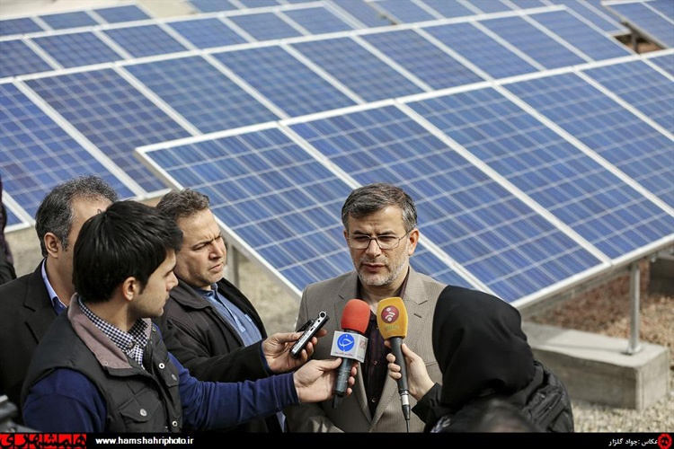 افتتاح نیروگاه خورشیدی در سالگرد راه اندازی اولین سامانه زباله سوز کشور