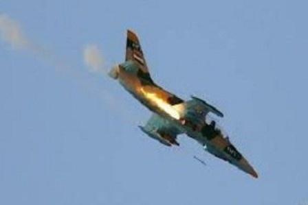 هواپیمای میگ لیبی در بنغازی سقوط کرد