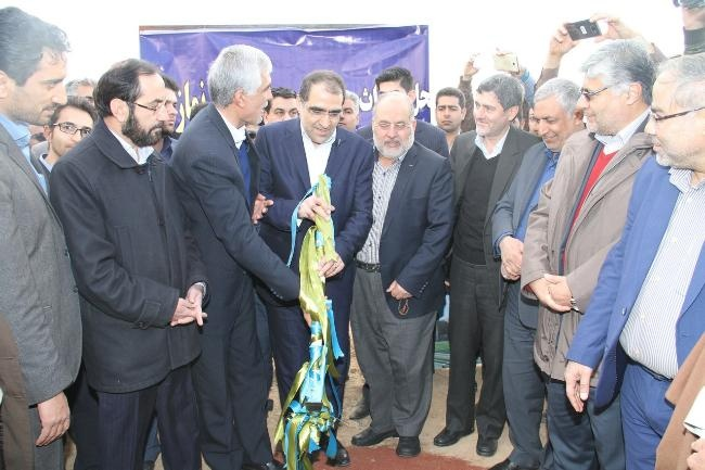 افتتاح پروژه در فارس