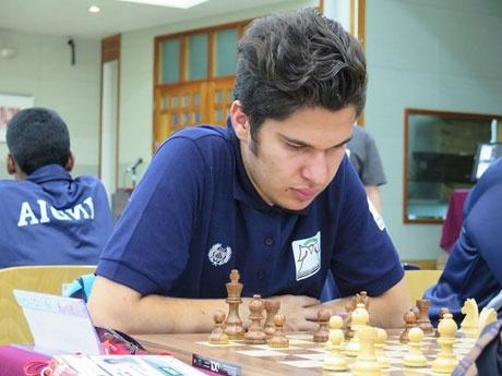 مصدقپور قهرمان جام بینالمللی شطرنج خزر شد