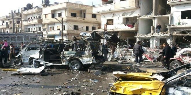 ۴۶ کشته بر اثر دو انفجار همزمان در حمص سوریه