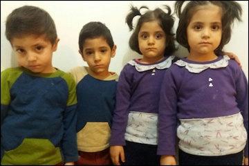 پدر چهار قلوها: لطفا بچههای مرا دریابید