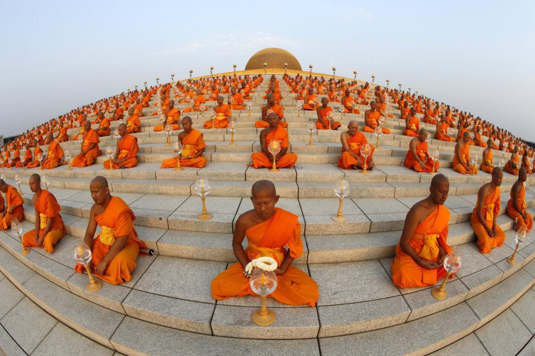 عکس روز: راهبان بودایی